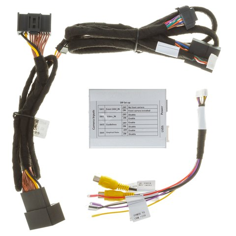 Адаптер подключения камеры заднего и переднего вида для Cadillac/Buick Превью 4