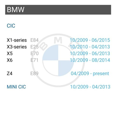 Wireless CarPlay and Android Auto Adapter for BMW with CIC Preview 2