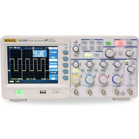Цифровой 4-канальный осциллограф RIGOL DS1204B Превью 1