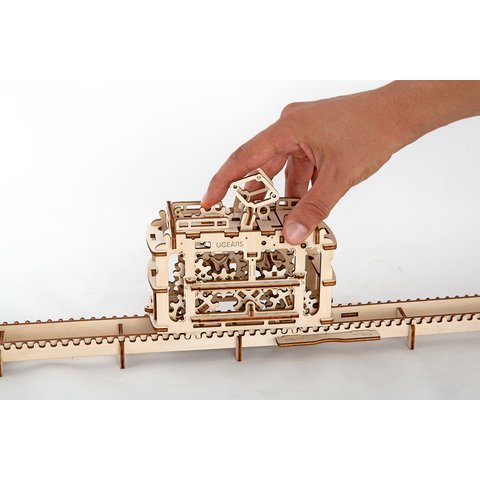 Mechanical 3D Puzzle UGEARS Tram