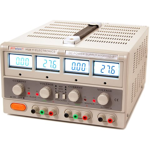 Power Supply HYelec HY3005D-3 (LCD Display; 0-30V; 0-5A) Preview 1